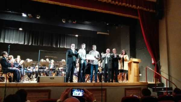 Entrega de premios Concurso de Composicion