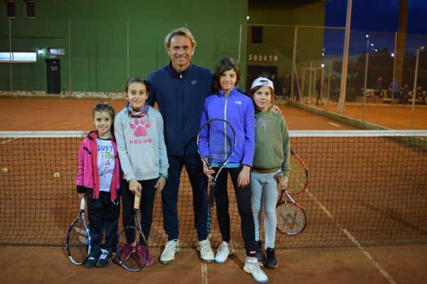 equipo alevin tenis