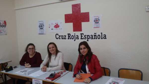 cruz roja dia banderita