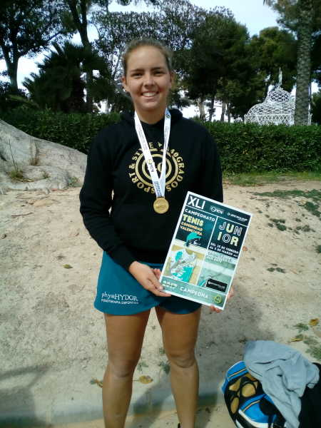 silvia bordes campeona Junior (2)