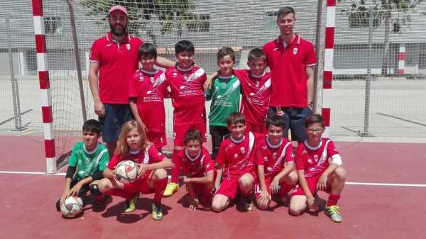 Benjamín B Fútbol