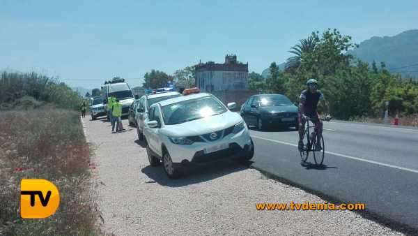 accidente ciclistas 1