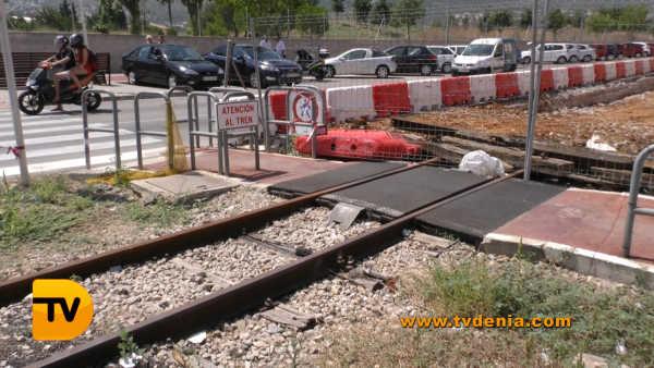 Obras tren 3
