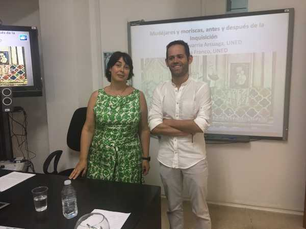 Ana Echevarría y Borja Franco