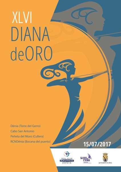 Cartel Diana de oro 2017 web
