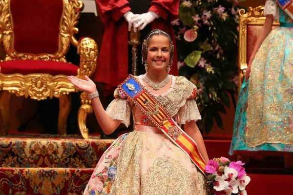Clara Maria Parejo Fallera Major infantil Valencia