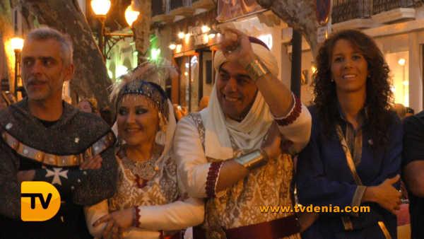 Entraeta Moros y cristianos Dénia Festa Major 12