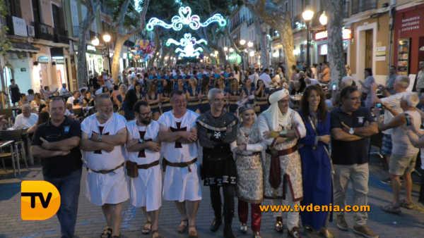 Entraeta Moros y cristianos Dénia Festa Major 13