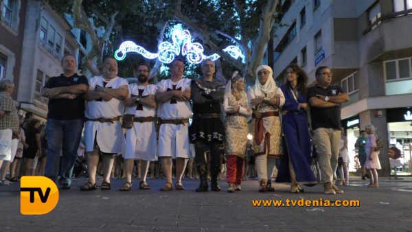 Entraeta Moros y cristianos Dénia Festa Major 15