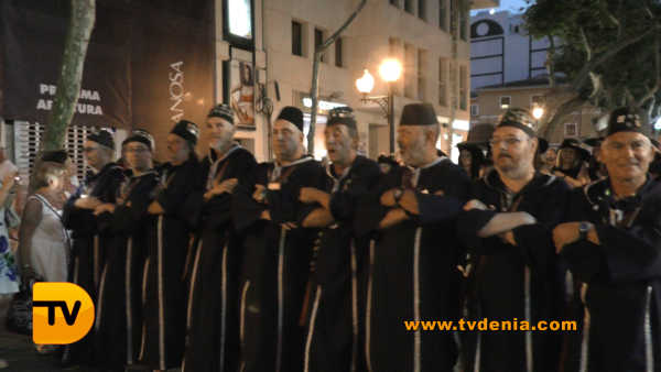 Entraeta Moros y cristianos Dénia Festa Major 18