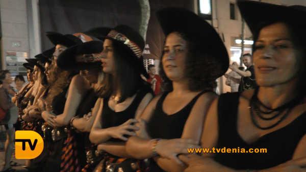 Entraeta Moros y cristianos Dénia Festa Major 19