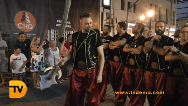 Entraeta Moros y cristianos Dénia Festa Major 20