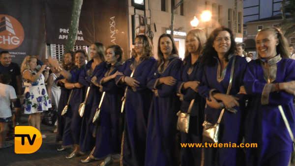 Entraeta Moros y cristianos Dénia Festa Major 24