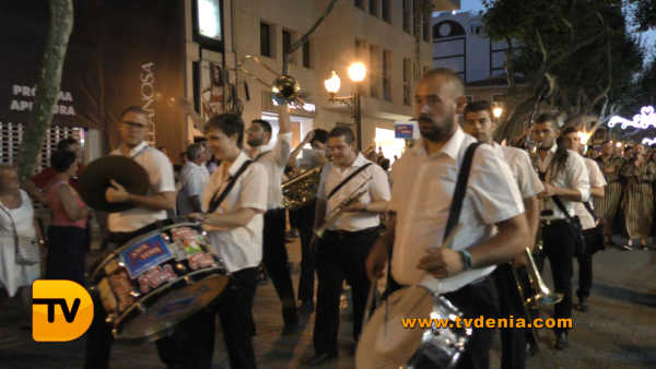 Entraeta Moros y cristianos Dénia Festa Major 25