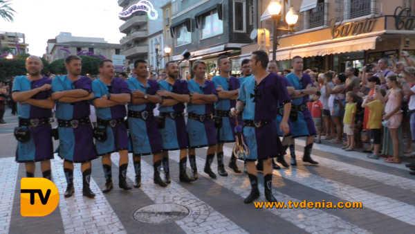 Entraeta Moros y cristianos Dénia Festa Major 3
