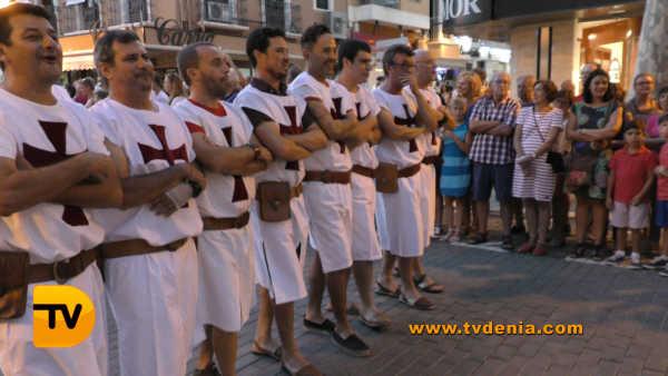 Entraeta Moros y cristianos Dénia Festa Major 5