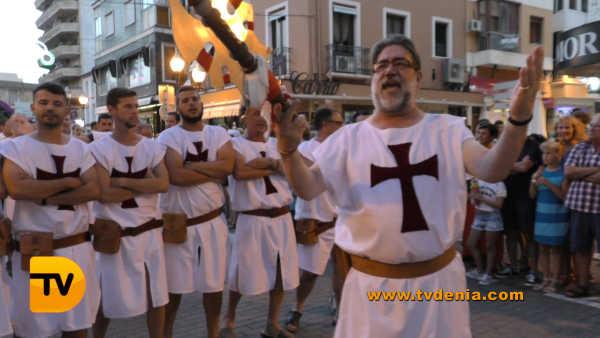 Entraeta Moros y cristianos Dénia Festa Major 6