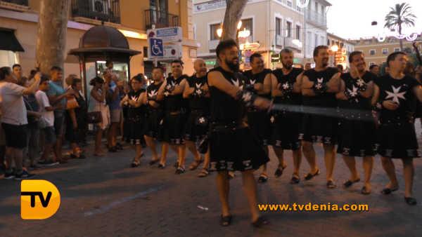 Entraeta Moros y cristianos Dénia Festa Major 9