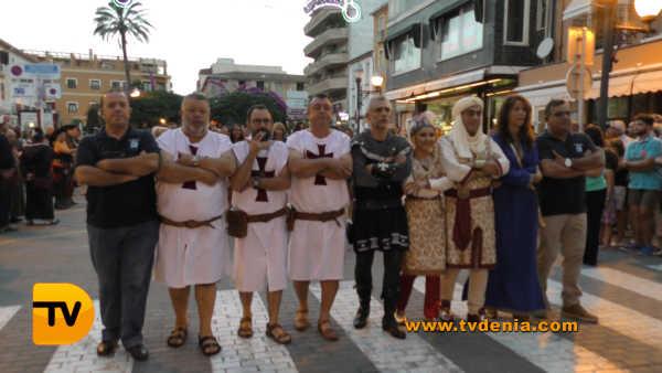 Entraeta Moros y cristianos Dénia Festa Major