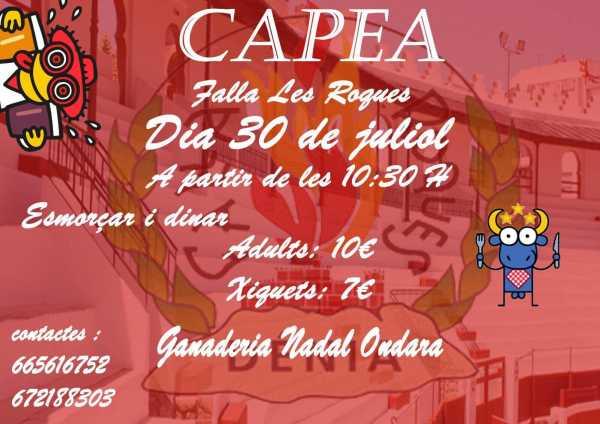Falla Les Roques capea (1)