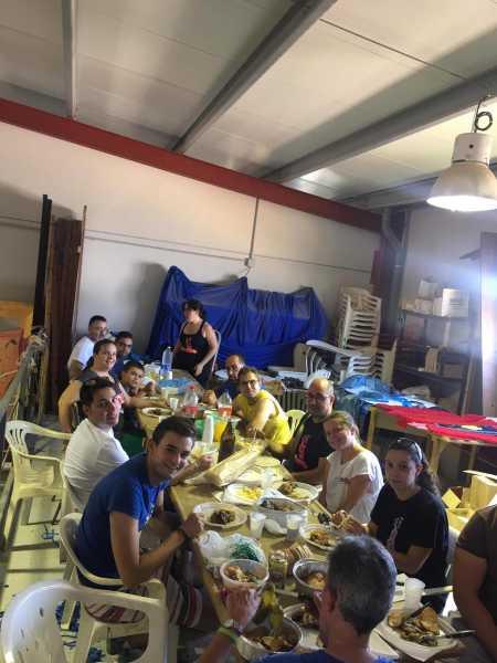 Falla Les Roques sopar carrosses (1)