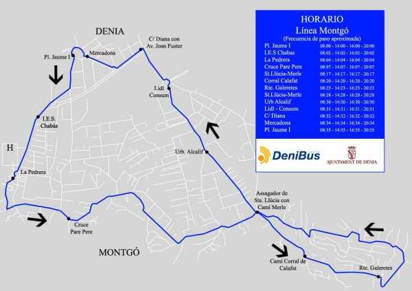 Plano_recorrido_circular_bus_zona_Pedrera_Montgo