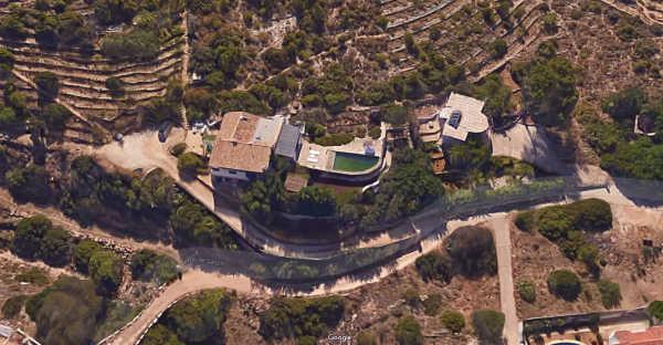 Derribo Chalet en las Rotas foto Google Maps