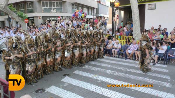 Desfile de gala Dénia 2017 cristiano 24