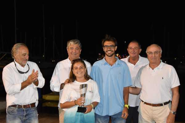 Isabel Antoñanzas segunda en Vela Ligera