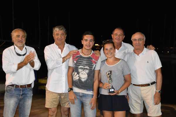 Teresa Antoñanzas terceros en Vela ligera