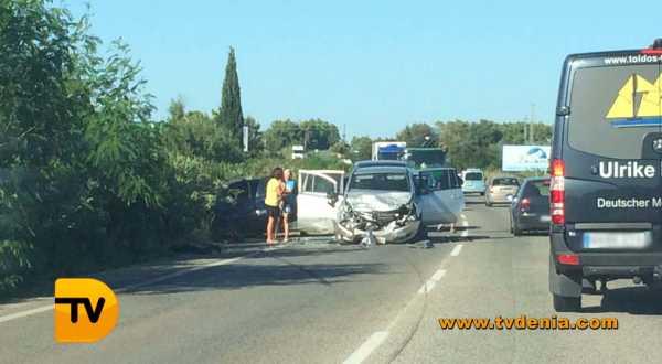 Accidente trafico Dénia