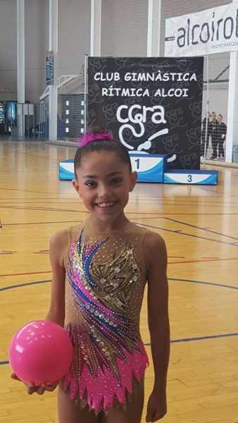 Club GR DENIA Nicole cuarta clasificada