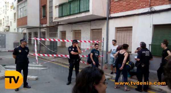 Desalojo grupo catala