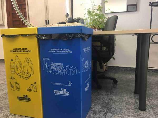 contenedores reciclaje ayuntamiento
