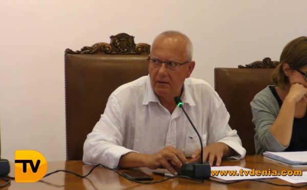 Alcalde Vicent Grimalt Psoe Dénia
