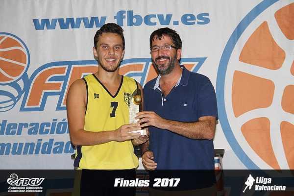 HAYZAM LUNA MVP LLIGA VAENCIANA 2017