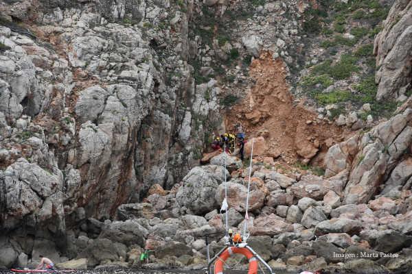 Rescate niño cova 6