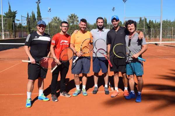 club de tenis masculino