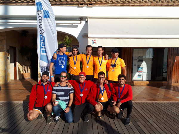 Absoluto masculino del RCND Bronce en Calpe