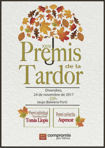 cartell Premis Tardor