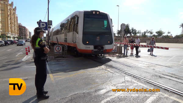 tren denia tram Carlos Domingo 12